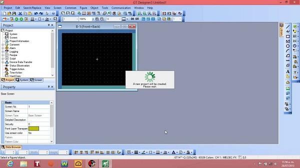 Hướng dẫn lập trình thiết kế màn hình HMI GOT1000