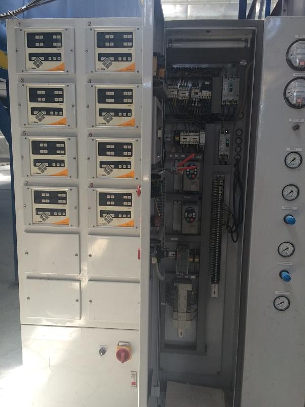 Tủ điều khiển PLC dây chuyền sơn tĩnh điện