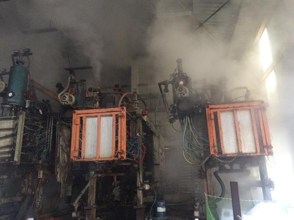 sửa dây chuyền sản xuất thùng xốp EPS