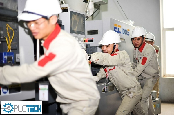Bảo dưỡng bảo trì máy móc công nghiệp PLCTECH