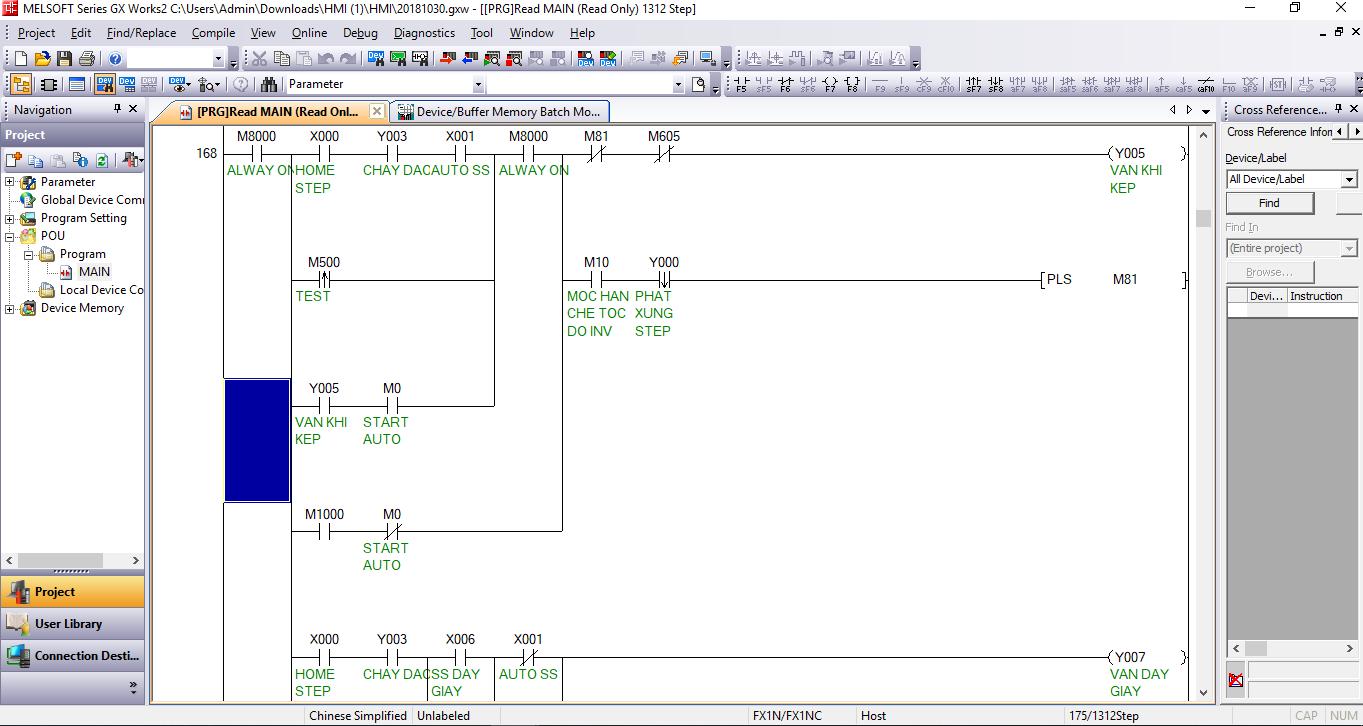 Tài liệu lập trình PLC Mitsubishi FX series
