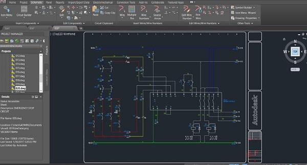 Quy trình thiết kế tủ điện