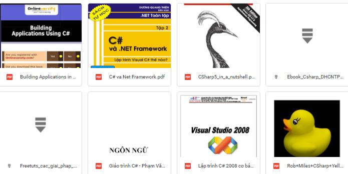 tài liệu ngôn ngữ lập trình C#