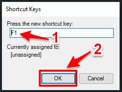 cách tắt mục help khi nhấn f1 trong autocad